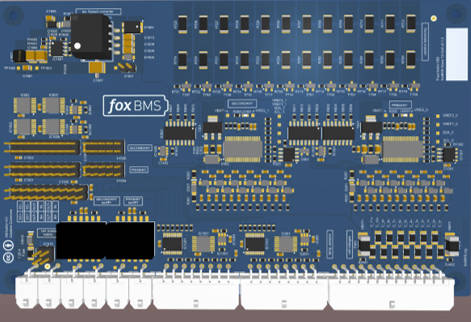 foxBMS Slave Unit LTC6811